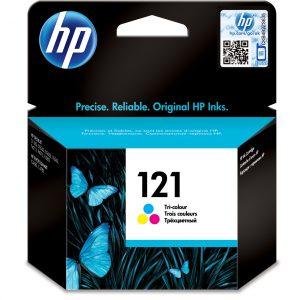 HP 121 Tri-color Original Ink Cartridge CC643HE