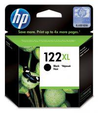 HP 122XL High Yield Black Original Ink Cartridge (CH563HE)