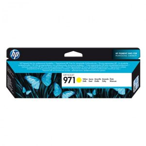 HP 971 Yellow Original Ink Cartridge